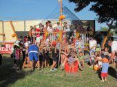 Fotogalerie: Pirátský den a fitess pro ženy v rámci otevření dětského hřiště a fitness hřiště