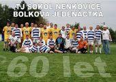 Fotogalerie: Oslava 60.let TJ Sokol Nenkovice