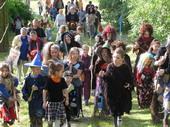 Fotogalerie: Slet čarodějnic na kopci v Nenkovicích 2009