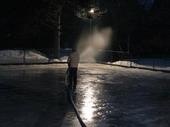 Fotogalerie: Ledová plocha - nástřik