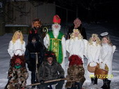 Fotogalerie: Mikuláš v obci 2010